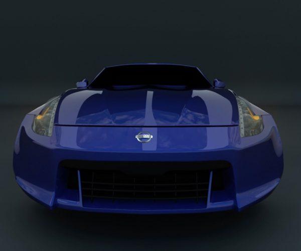 350z 3D Model